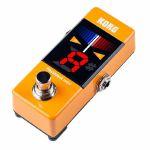 Korg Pitchblack Mini Tuner Pedal (orange)