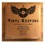 "Vinyl Keepers Premium Quality Heavy Gauge 12"" Polythene Record Sleeves (pack of 100, 450g)"