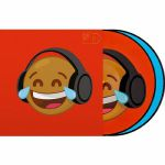 Serato Reversible Emoji Picture Disc #4 Thinking/Crying 12 Inch Control Vinyl (pair)
