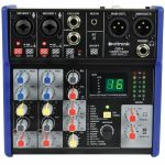 Citronic CSD4 Compact Mixer with BT & DSP Effects