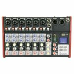 Citronic CSM8 Mixer With USB & Bluetooth Player (B-STOCK)