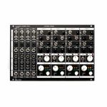ADDAC System ADDAC807C VC Stereo Mixer Expansion Module (black faceplate)