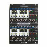 Division 6 Dual Mini Sequencer V2 Module (black faceplate)