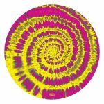 Glowtronics Tie Dyed UV Blacklight 12 Inch Slipmats (pair)