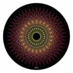 Glowtronics Sacred Spikes UV Blacklight 12 Inch Slipmats (pair)