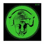 Glowtronics Buddha Minded Glow In The Dark 12 Inch Slipmats (pair)