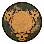 Glowtronics Dead Heads Cork 12 Inch Slipmat (single)