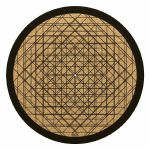 Glowtronics Sacred Depth Cork 12 Inch Slipmat (single)