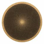 Glowtronics Sacred Net Cork 12 Inch Slipmat (single)