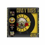 Guns N Roses 4-Piece Vinyl Coaster Set