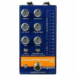 Empress Effects Compressor MKII Effects Pedal (blue)