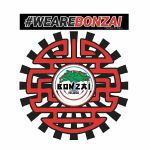 Bonzai Black Sun Slipmat (pair)