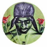 IDYD 2Pac Mural 12 Inch Turntable Slipmats