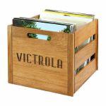"""Victrola VA20 12"""" LP Vinyl Record Crate"""