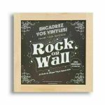 Rock On Wall 12 Inch Album Cover Frame (beech, wood)