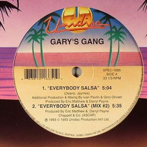GARY'S GANG - Everybody Salsa