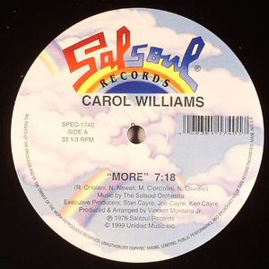 WILLIAMS, Carol - More