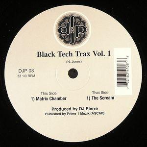 DJ PIERRE - Black Tech Trax! Vol 1