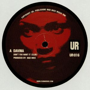 DAVINA - Don't You Want It (Mad Mike production)