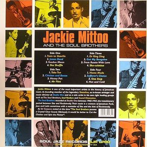 MITTOO, Jackie & THE SOUL BROTHERS - Last Train To Skaville