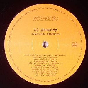 DJ GREGORY - Don't Know Malendro