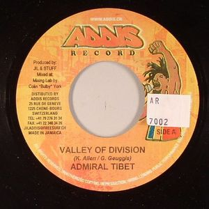 ADMIRAL TIBET - Valley Of Division