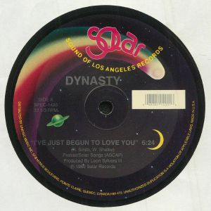 DYNASTY - I've Just Began To Love You