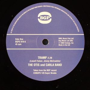 OTIS & CARLA BAND, The/LOUISE McCORD - Tramp