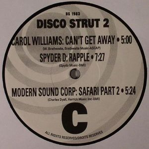 VARIOUS - Disco Strut Volume 2 (warehouse find)