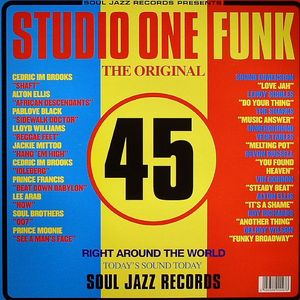 VARIOUS - Studio One Funk