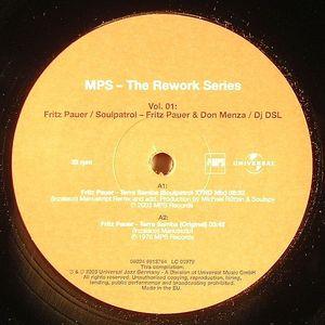 PAUER, Fritz/DON MENZA - MPS: The Rework Series Vol 01