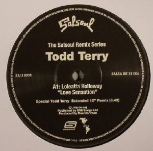 HOLLOWAY, Loleatta/TODD TERRY - The Salsoul Remix Series: Love Sensation
