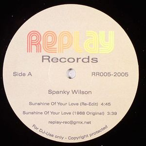 WILSON, Spanky/PEGGY LEE - Sunshine Of Your Love