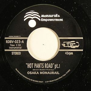 OSAKA MONAURAIL - Hot Pants Road (part 1) (repress)