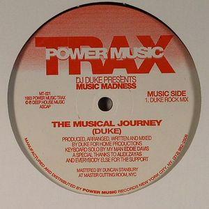DJ DUKE presents MUSIC MADNESS - The Musical Journey