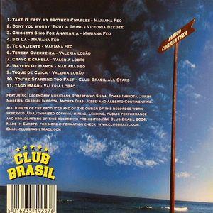 VARIOUS - Club Brasil presents: The Ipanema Set