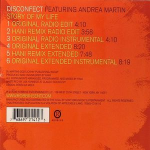DISCONFECT feat ANDREA MARTIN - Story Of My Life