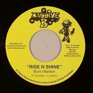BANTON, Burro/KING KONG - Rise N Shine (Jah Love Riddim)