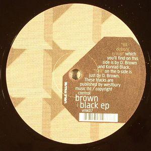 D BROWN/KONRAD BLACK - Brown & Black EP
