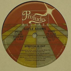ADAMS, Gayle - Stretch In Out