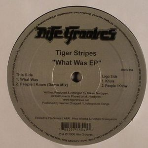 TIGER STRIPES - What Was EP