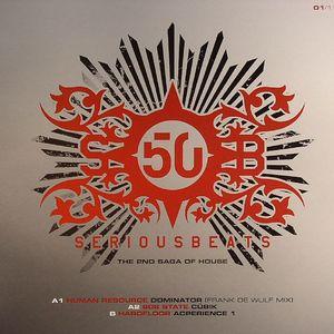 HUMAN RESOURCE/808 STATE/HARDFLOOR - Serious Beats 50 Vinyl 1