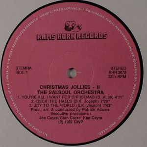 SALSOUL ORCHESTRA, The - Christmas Jollies Vol 2