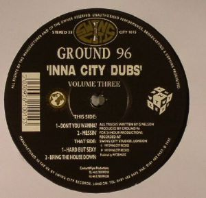 GROUND 96 - Inna City Dubs Volume 3 (warehouse find, slight sleeve wear)