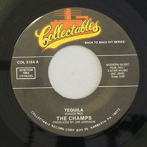 CHAMPS, The/PATSY CLINE - Tequila