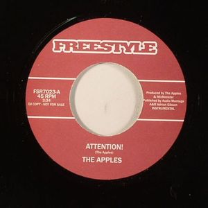 APPLES, The/THE QUARTERTONES - Attention!