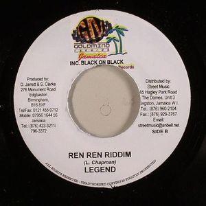 VYBZ KARTEL/LEGEND - Born & Raised In The Ghetto (Ren Ren Riddim)