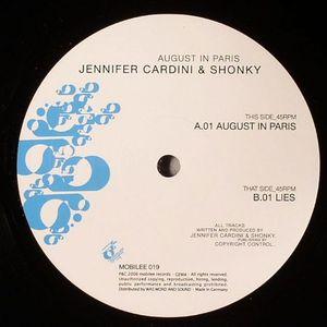 CARDINI, Jennifer/SHONKY - August In Paris