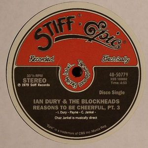 DURY, Ian/THE BLOCKHEADS - Reasons To Be Cheerful (Part 3)