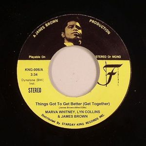 WHITNEY, Marva/LYN COLLINS/JAMES BROWN/BEAU DOLLAR - Things Got To Get Better (Get Together)